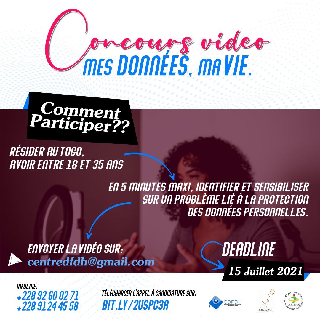 Un concours vidéo pour impliquer les citoyens dans la protection des données personnelles